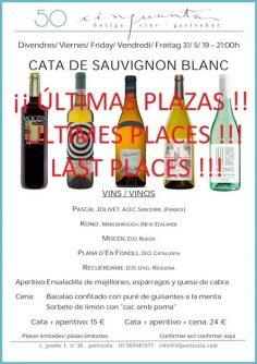 31/05/19 – Cata de Sauvignon Blanc