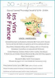 5/12/19 – Los vinos de Francia