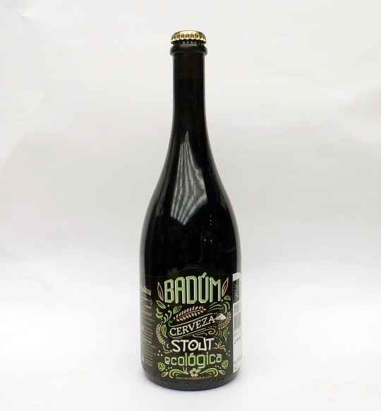 Cerveza Badum Stout 75 cl.