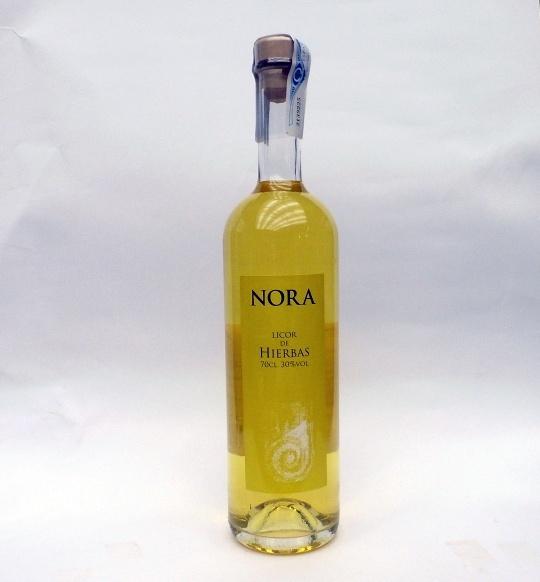 Orujo de hierbas Nora